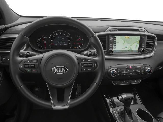 2018 Kia Sorento Base Price SX Limited V6 FWD Pricing driver's dashboard