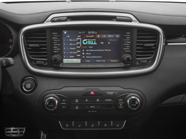 2018 Kia Sorento Base Price SX Limited V6 FWD Pricing stereo system