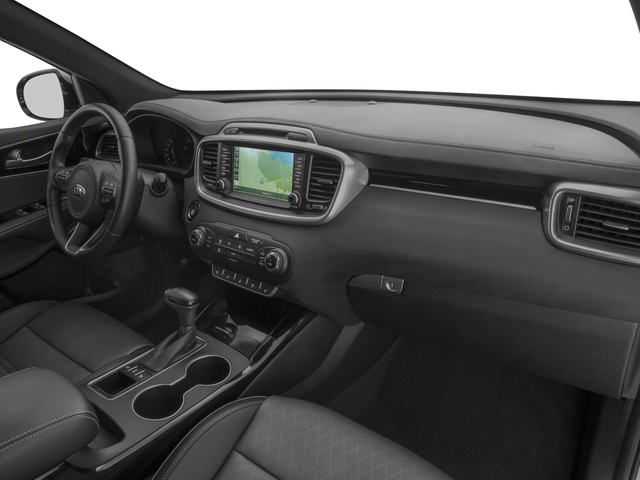 2018 Kia Sorento Base Price SX Limited V6 FWD Pricing passenger's dashboard