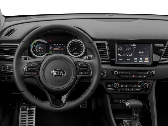 2018 Kia Niro Prices and Values Utility 4D FE 2WD I4 Hybrid driver's dashboard