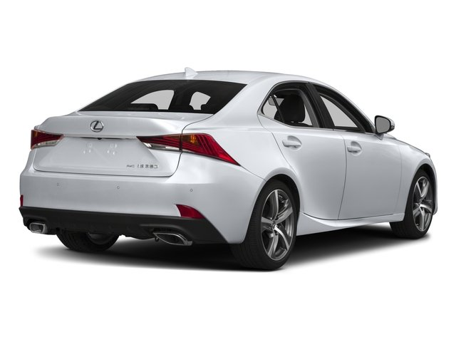 2018 Lexus IS Base Price IS 350 F Sport AWD Pricing Side Rear View