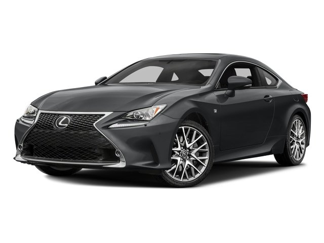 2018 Lexus RC Base Price RC 300 F Sport AWD Pricing Side Front View