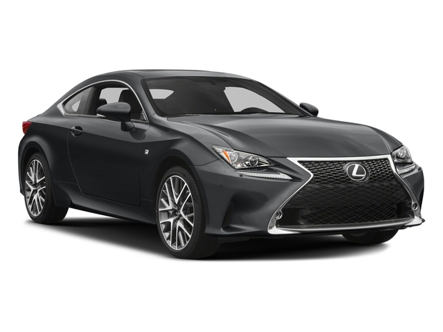 2018 Lexus RC Prices and Values Coupe 2D RC300 AWD V6 side front view