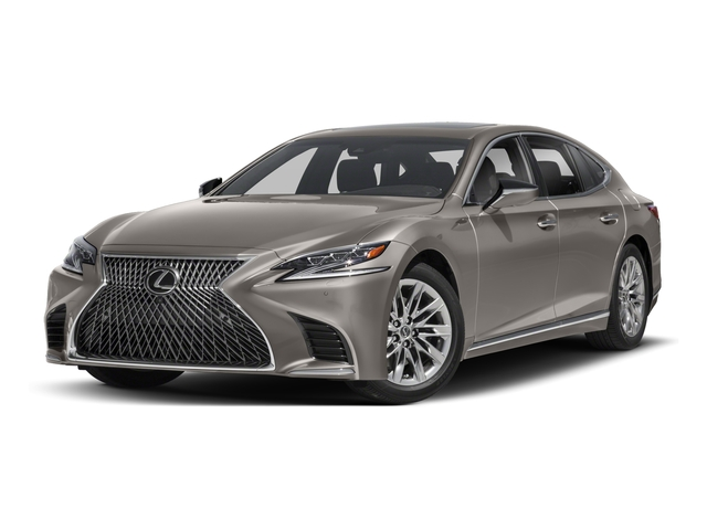 2018 Lexus LS Base Price LS 500 F Sport AWD Pricing Side Front View