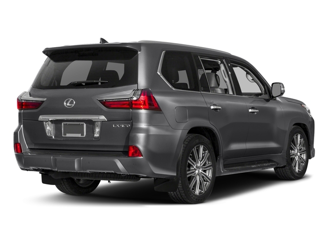 2018 Lexus LX Base Price LX 570 Three Row 4WD Pricing Side Rear View