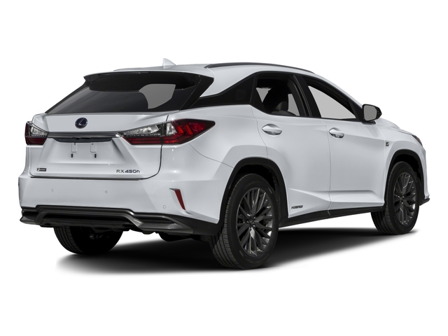 2018 Lexus RX Base Price RX 450h F Sport AWD Pricing Side Rear View