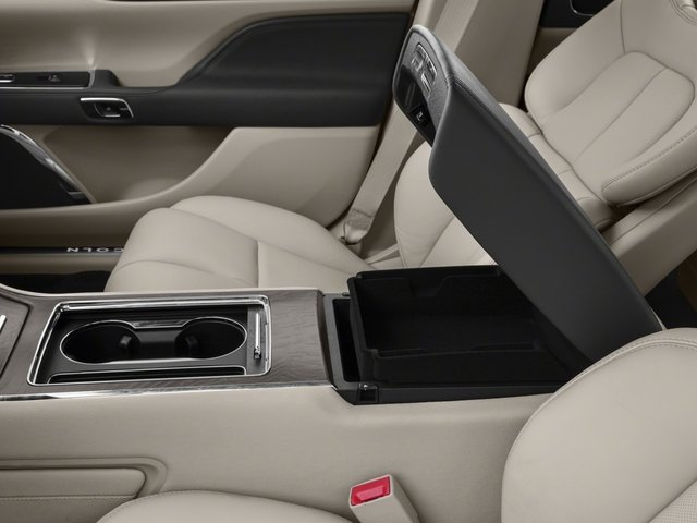 2018 Lincoln Continental Prices and Values Sedan 4D Premiere V6 center storage console