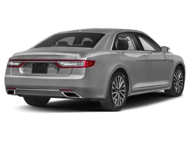 2018 Lincoln Continental Prices and Values Sedan 4D Premiere V6 side rear view