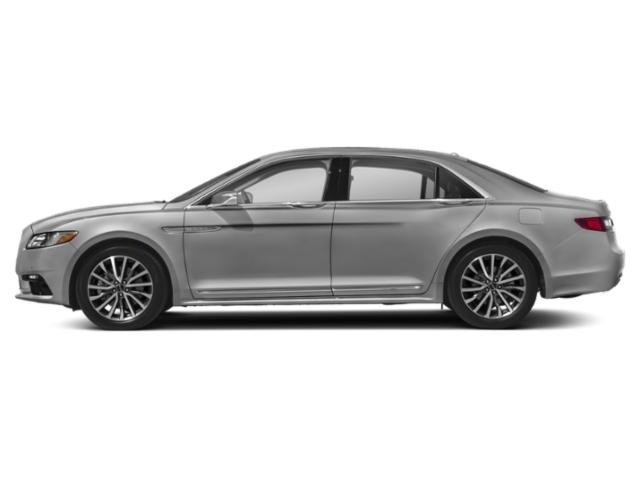 2018 Lincoln Continental Prices and Values Sedan 4D Premiere V6 side view