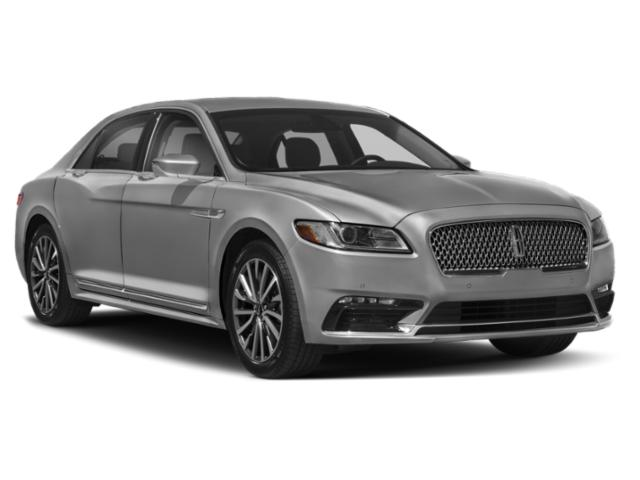 2018 Lincoln Continental Prices and Values Sedan 4D Premiere V6 side front view
