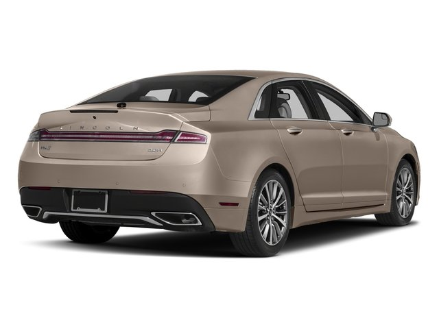 2018 Lincoln Mkz Base Price Hybrid Premiere Fwd Pricing Side Rear View