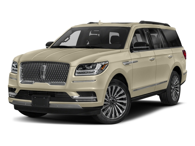 2018 Lincoln Navigator Pictures Navigator 4x4 Black Label photos side front view