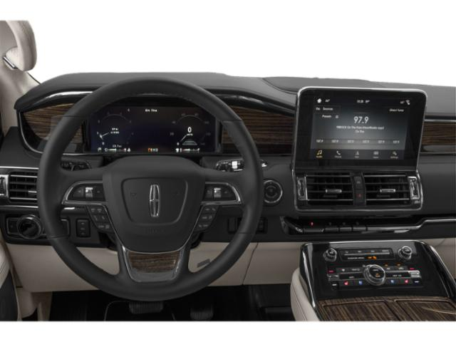 2018 Lincoln Navigator Prices and Values Utility 4D Black Label 4WD driver's dashboard
