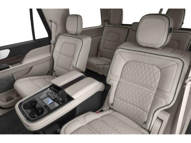 2018 Lincoln Navigator Prices and Values Utility 4D Black Label 4WD backseat interior