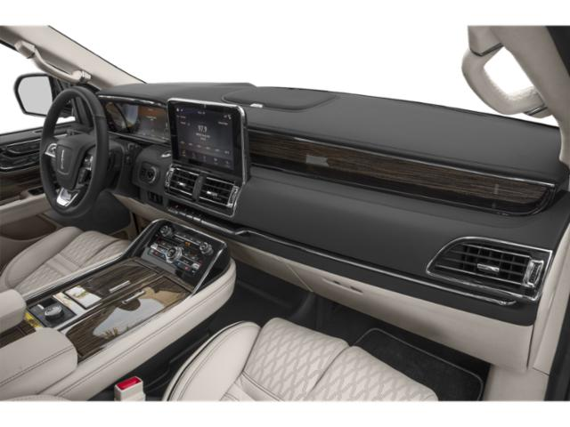2018 Lincoln Navigator Prices and Values Utility 4D Black Label 4WD passenger's dashboard