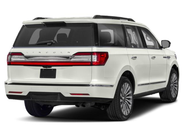 2018 Lincoln Navigator Prices and Values Utility 4D Black Label 4WD side rear view