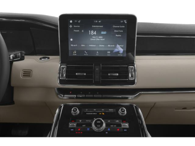 2018 Lincoln Navigator Prices and Values Utility 4D Black Label 4WD stereo system