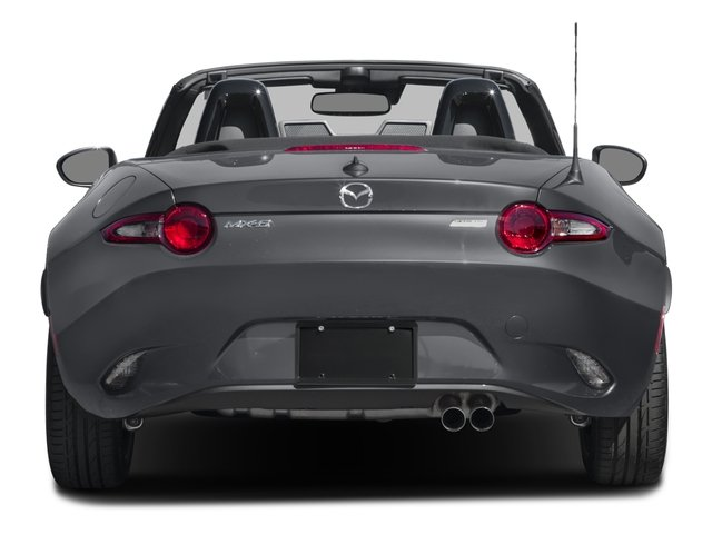 2018 Mazda MX-5 Miata Pictures MX-5 Miata Grand Touring Manual photos rear view