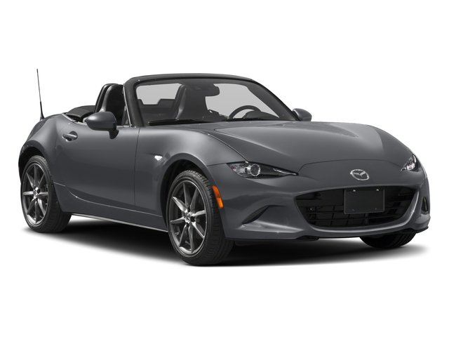 2018 Mazda MX-5 Miata Prices and Values Convertible 2D GT I4 side front view