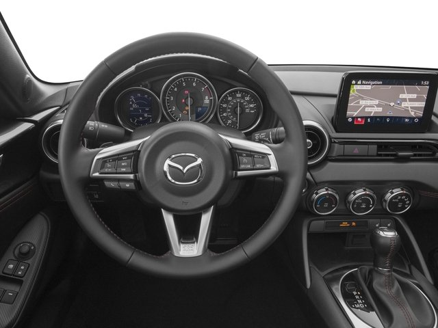 2018 Mazda MX-5 Miata Pictures MX-5 Miata Grand Touring Manual photos driver's dashboard