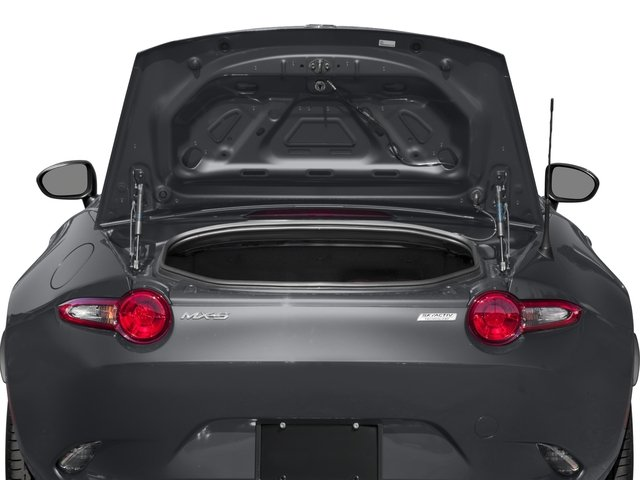 2018 Mazda MX-5 Miata Pictures MX-5 Miata Grand Touring Manual photos open trunk