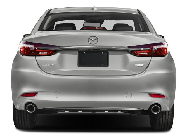 2018 Mazda Mazda6 Prices and Values Sedan 4D Signature I4 rear view