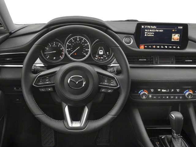 2018 Mazda Mazda6 Prices and Values Sedan 4D Signature I4 driver's dashboard