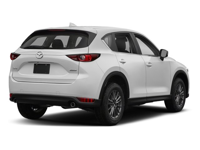 2018 Mazda CX-5 Base Price Sport FWD Pricing side rear view
