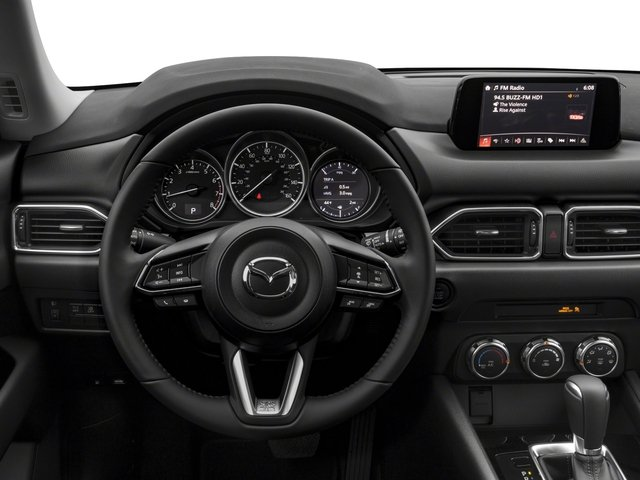 2018 Mazda CX-5 Base Price Sport FWD Pricing driver's dashboard