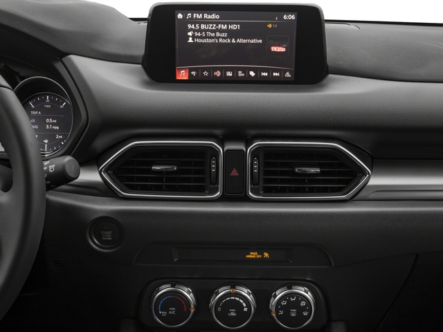 2018 Mazda CX-5 Base Price Sport FWD Pricing stereo system