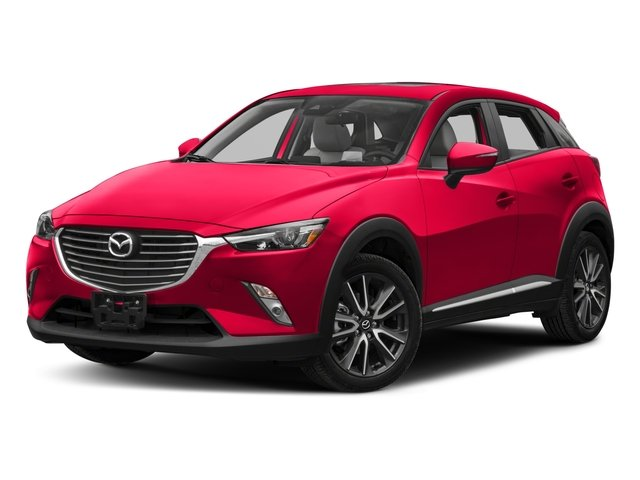 2018 Mazda CX-3 Base Price Grand Touring AWD Pricing side front view