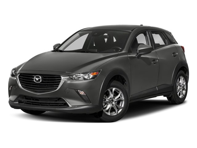 2018 Mazda CX-3 Pictures CX-3 Sport AWD photos side front view