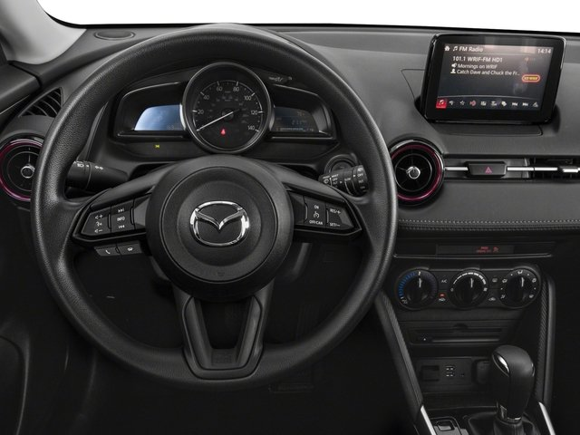 2018 Mazda CX-3 Base Price Sport AWD Pricing driver's dashboard