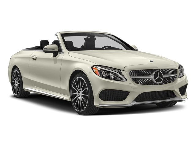 2018 Mercedes-Benz C-Class Prices and Values Convertible 2D C300 I4 Turbo side front view