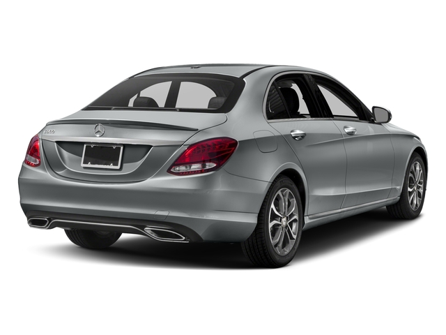 2018 Mercedes-Benz C-Class Base Price C 300 Sedan Pricing side rear view