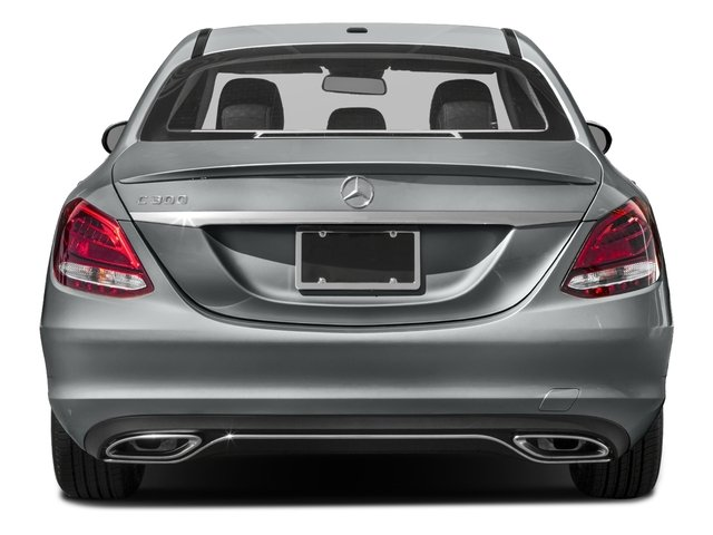 2018 Mercedes-Benz C-Class Pictures C-Class C 300 Sedan photos rear view