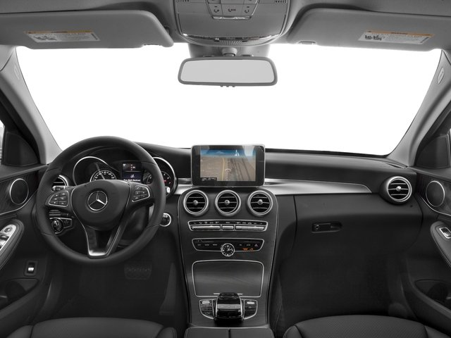 2018 Mercedes-Benz C-Class Base Price C 300 Sedan Pricing full dashboard