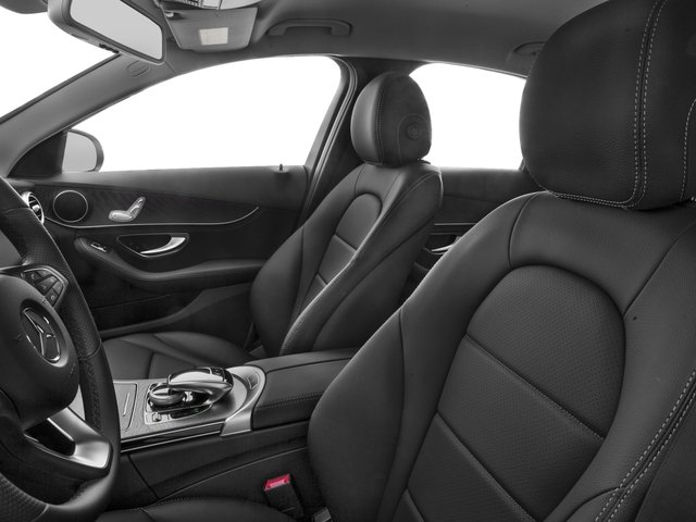 2018 Mercedes-Benz C-Class Base Price C 300 Sedan Pricing front seat interior