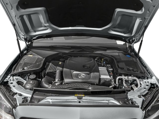 2018 Mercedes-Benz C-Class Pictures C-Class C 300 Sedan photos engine