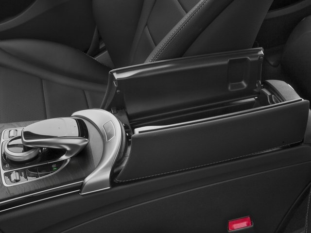 2018 Mercedes-Benz C-Class Base Price C 300 Sedan Pricing center storage console