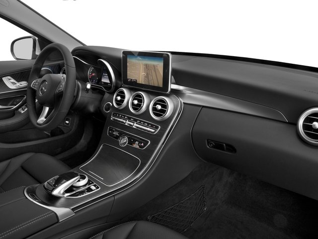 2018 Mercedes-Benz C-Class Base Price C 300 Sedan Pricing passenger's dashboard
