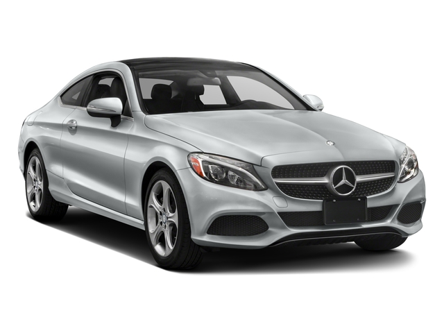 2018 Mercedes-Benz C-Class Prices and Values Coupe 2D C300 I4 Turbo side front view