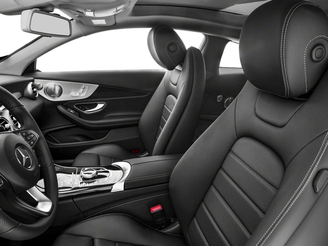 2018 Mercedes-Benz C-Class Base Price C 300 4MATIC Coupe Pricing front seat interior