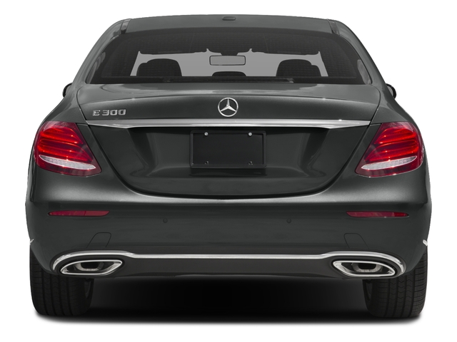 2018 Mercedes-Benz E-Class Pictures E-Class E 300 RWD Sedan photos rear view