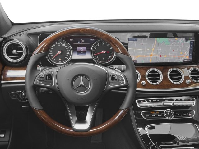 2018 Mercedes-Benz E-Class Pictures E-Class E 300 RWD Sedan photos driver's dashboard
