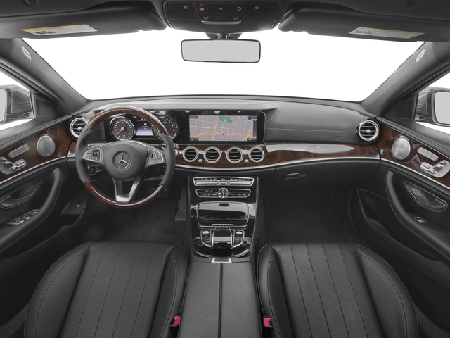 2018 Mercedes-Benz E-Class Pictures E-Class E 300 RWD Sedan photos full dashboard