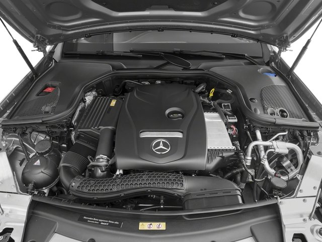 2018 Mercedes-Benz E-Class Pictures E-Class E 300 RWD Sedan photos engine