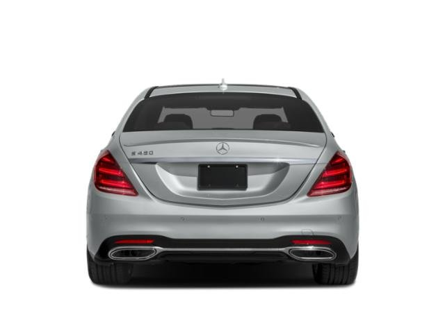 2018 Mercedes-Benz S-Class Pictures S-Class S 450 4MATIC Sedan photos rear view