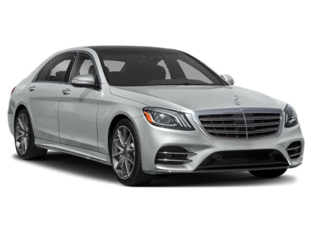 2018 Mercedes-Benz S-Class Prices and Values Sedan 4D S450 AWD Turbo side front view