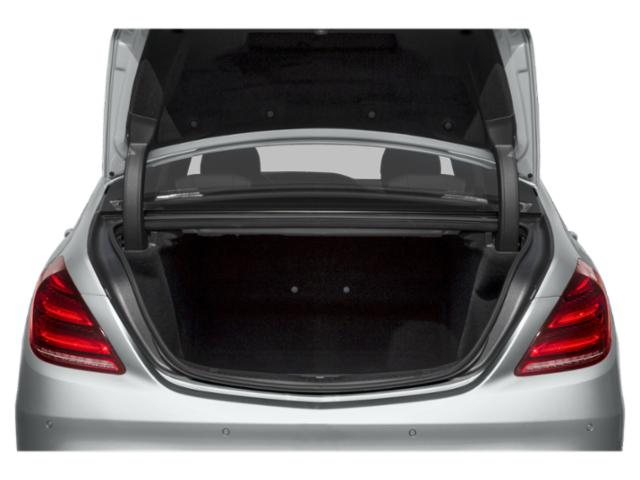 2018 Mercedes-Benz S-Class Prices and Values Sedan 4D S450 AWD Turbo open trunk